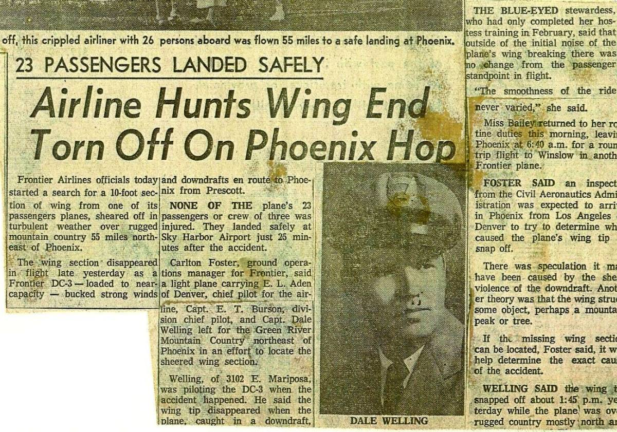 The CAB Accident Investigation Report was released April 8, 1958.